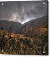 Ominous Skies Acrylic Print