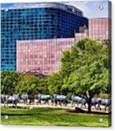 Omni Hotel Dallas Texas Acrylic Print