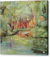 On A Bayou Acrylic Print