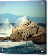 On A Clear Day Cropped Acrylic Print