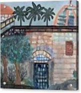 On A Street In Hebron Acrylic Print