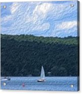 On Cayuga Lake Acrylic Print