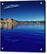 On Crater Lake Acrylic Print