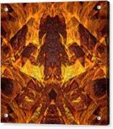 On Fire Acrylic Print