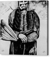 On Kiowa Reservation Acrylic Print