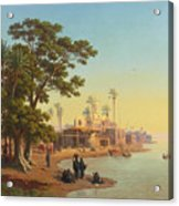 On The Banks Of The Nile Acrylic Print