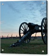 On The Battlefield Acrylic Print