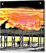 On The Beach Acrylic Print by Bill Cannon