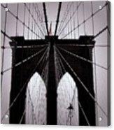 On The Bridge Acrylic Print