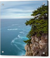 On The Cliff - Horizontal Acrylic Print