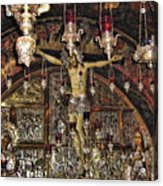 On The Cross Acrylic Print