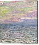 On The High Seas Acrylic Print