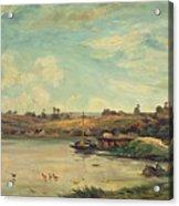 On The Loire Acrylic Print