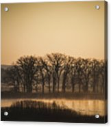 On The Marsh Acrylic Print