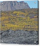On The Matanuska Glacier Acrylic Print
