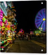 On The Midway Acrylic Print