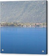 On The Millstaettersee Acrylic Print