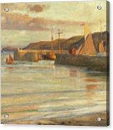 On The North Devon Coast Acrylic Print