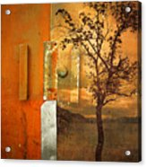 On The Other Side Of The Door Acrylic Print