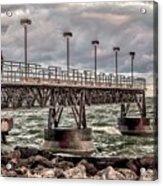 On The Pier Acrylic Print