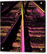 On The Right Track Acrylic Print
