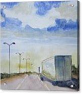 On The Road Again Acrylic Print
