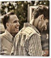 On The Road-mitt Romney Acrylic Print