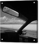 On The Road, Utah Acrylic Print