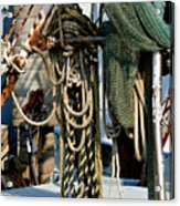 On The Ropes Acrylic Print