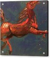 On The Run - Horse Acrylic Print