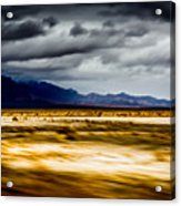 On The Way To Death Valley Acrylic Print