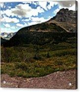 On The Way To Iceberg - Panorama Acrylic Print