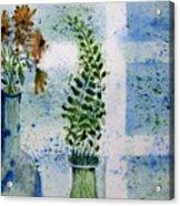 On The Windowledge Acrylic Print