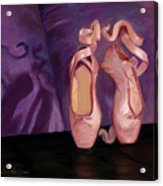 On Pointe - Mirror Image By Marilyn Nolan-johnson Acrylic Print