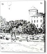 on Wawel Acrylic Print