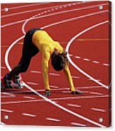 Track And Field 1 Acrylic Print