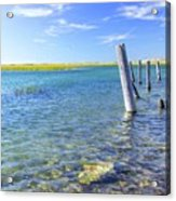 Once Upon A Pier Acrylic Print