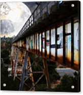 Once Upon A Time In Any Town Usa Acrylic Print