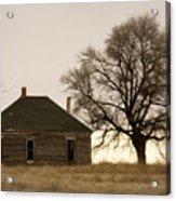 Once Upon A Time In West Texas Acrylic Print