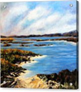 One Beach Washington Acrylic Print
