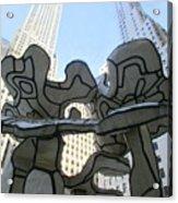 One Chase Manhattan Plaza 3 Acrylic Print