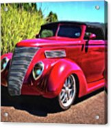 One Cool 1937 Ford Roadster Acrylic Print