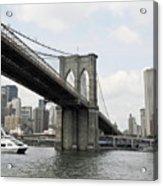 One Day At Brooklyn Bridge Acrylic Print
