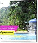 One Day Picnic Spot In Pune For Rainy Season Splendour Country Acrylic Print