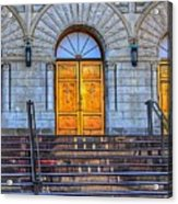 One Door And Only One Acrylic Print