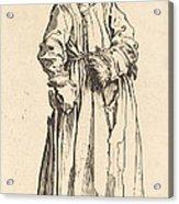 One-eyed Woman Acrylic Print