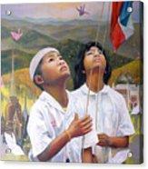 One Heart Of Thailand Acrylic Print