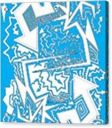 One Liner X Jtl Acrylic Print