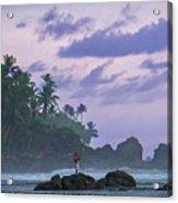 One Man Island Acrylic Print