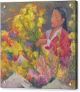 One More Bouquet Acrylic Print